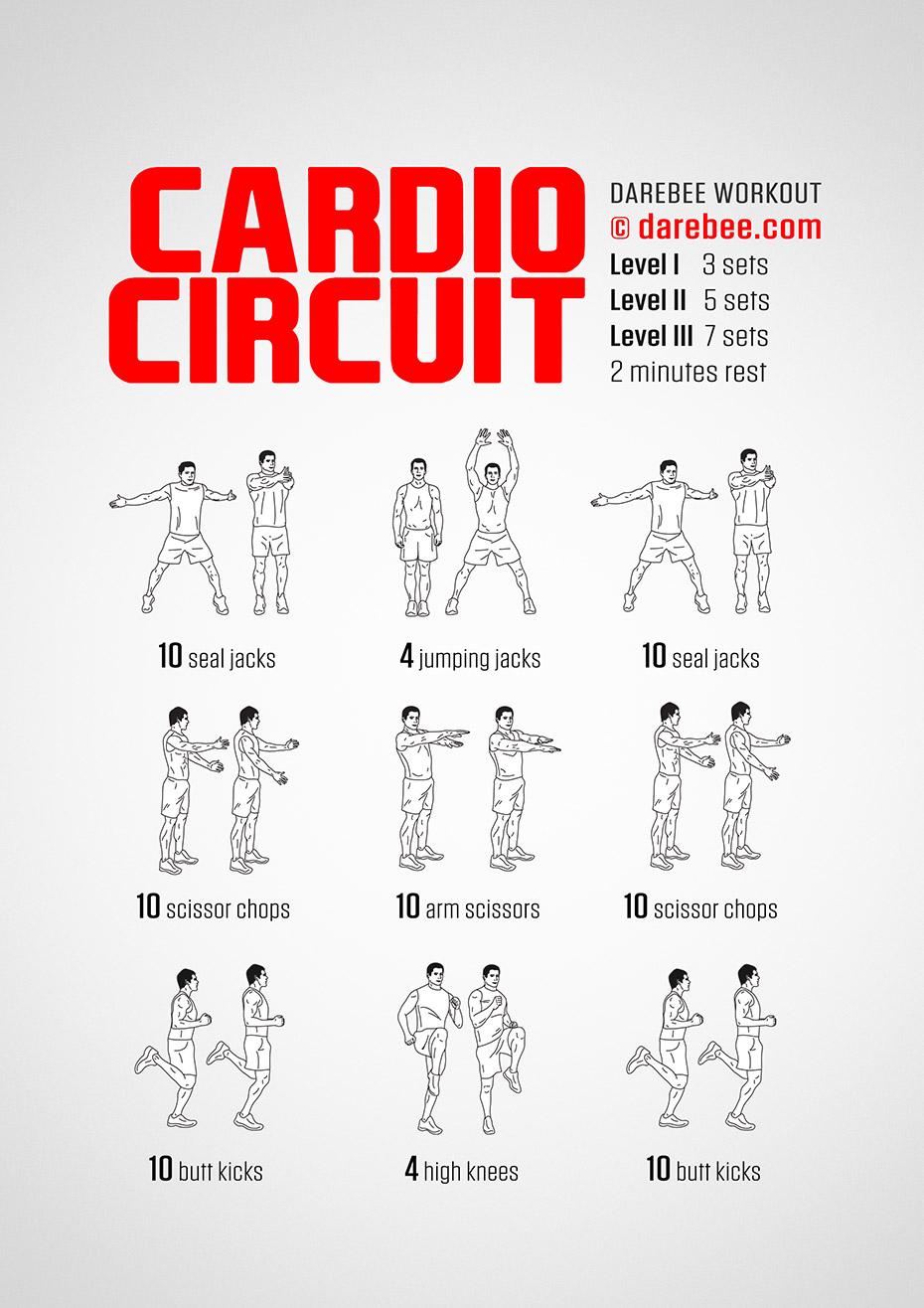 Cardio Circuit Workout