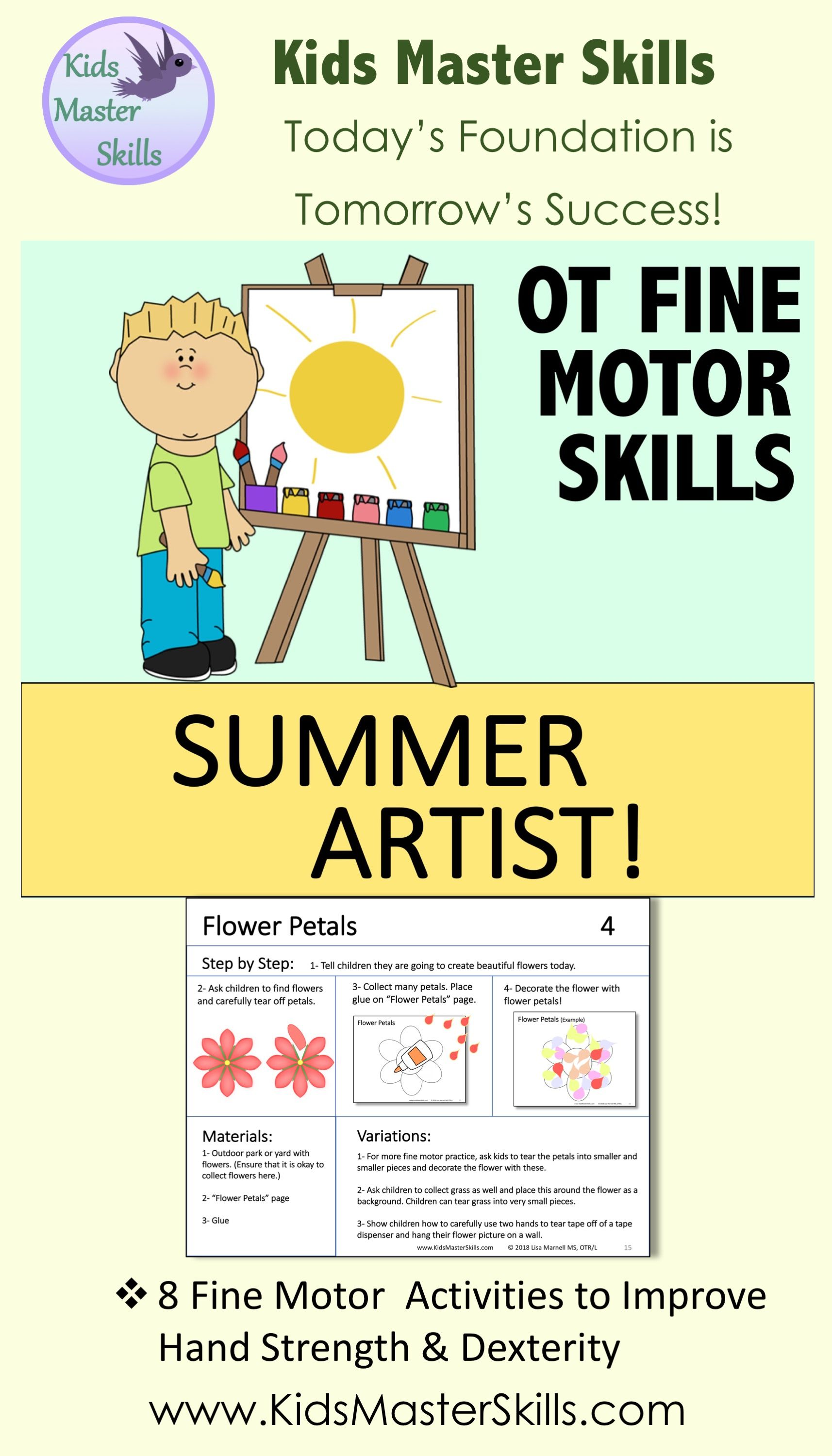 Fine Motor Skills Occupational Therapy
