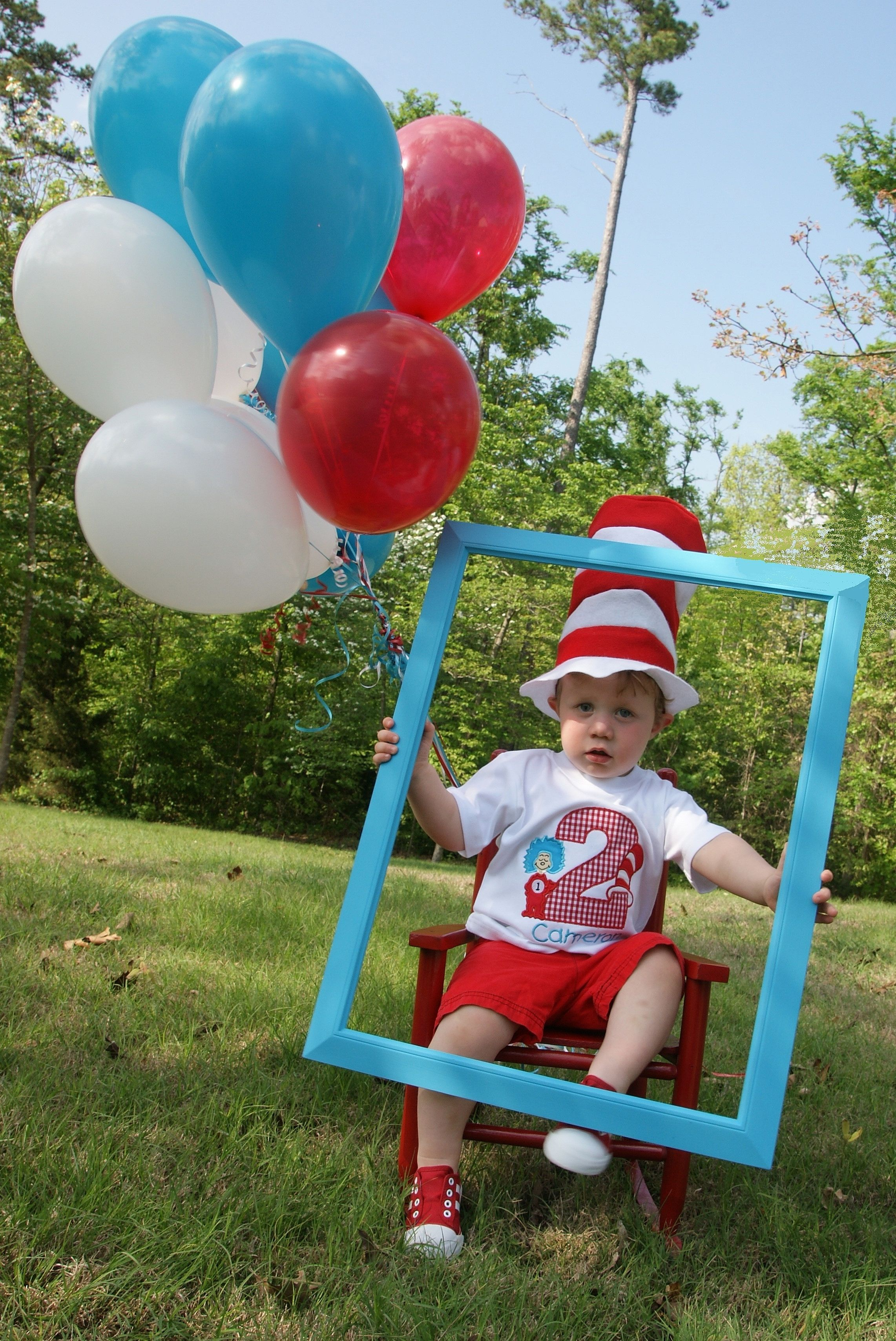 Here Is My Sweet Baby Boy S 2nd Birthday Picture For His Cat In The