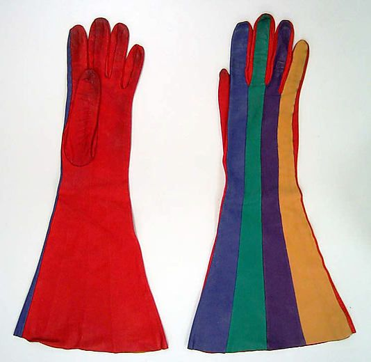 Gloves, made in France 1980s