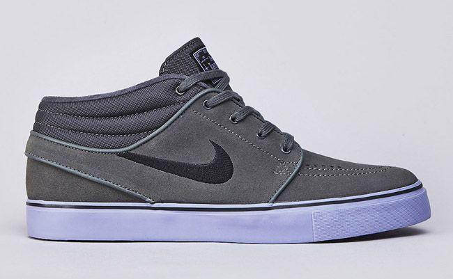 Nike SB Stefan Janoski Mid – Grey Purple | nice shoes