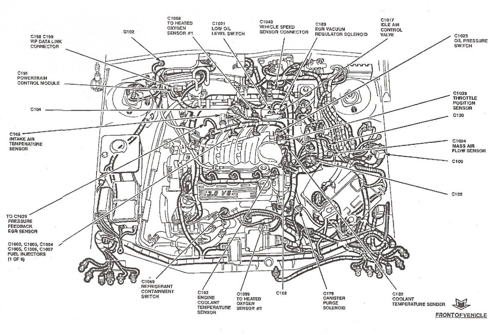 Engine Diagram 6 Ford Escape Up Ford Focus Engine Ford Escape Ford Focus