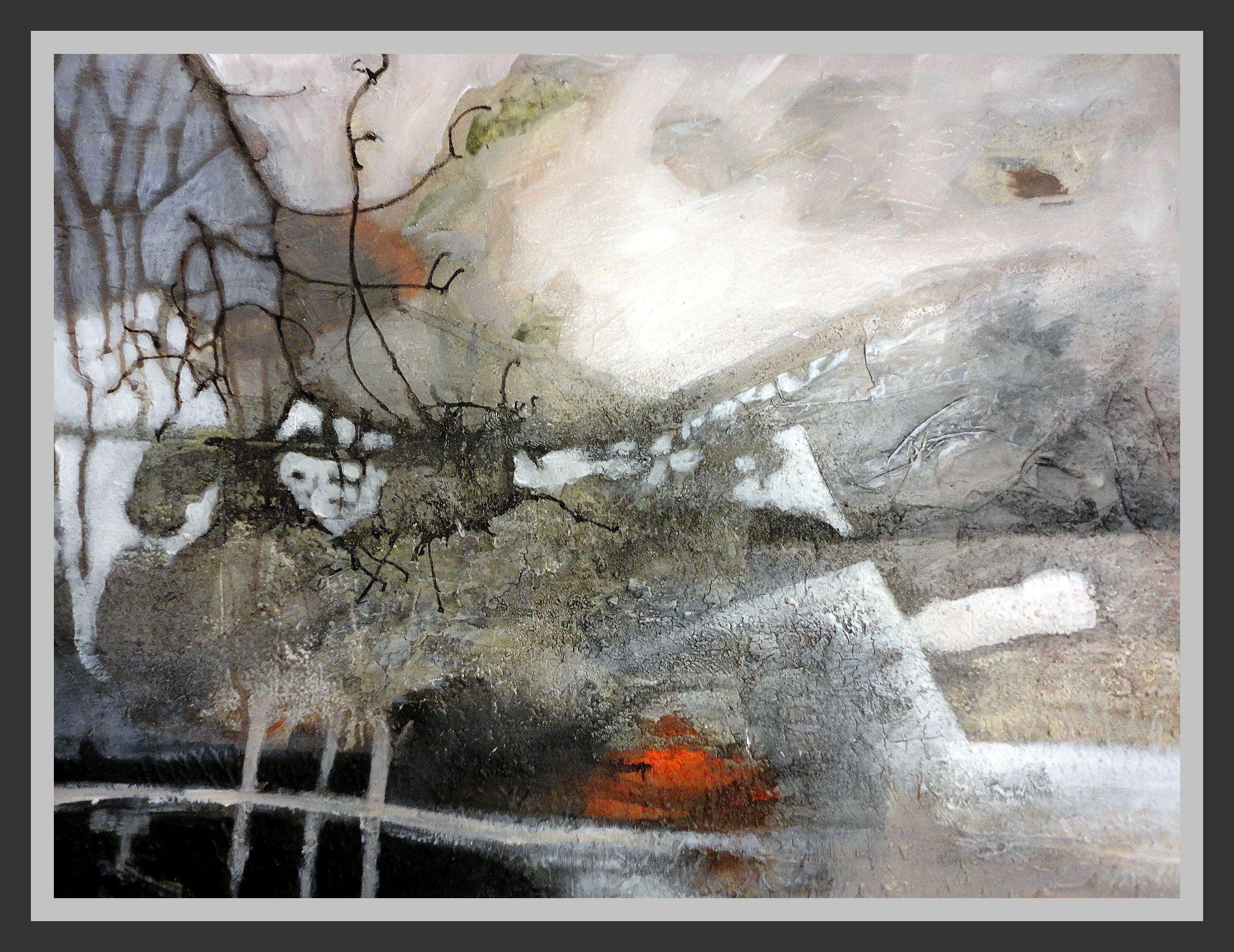 abstract landscape by Gerda Lipski www.gerdalipski.com youtube kanal ...