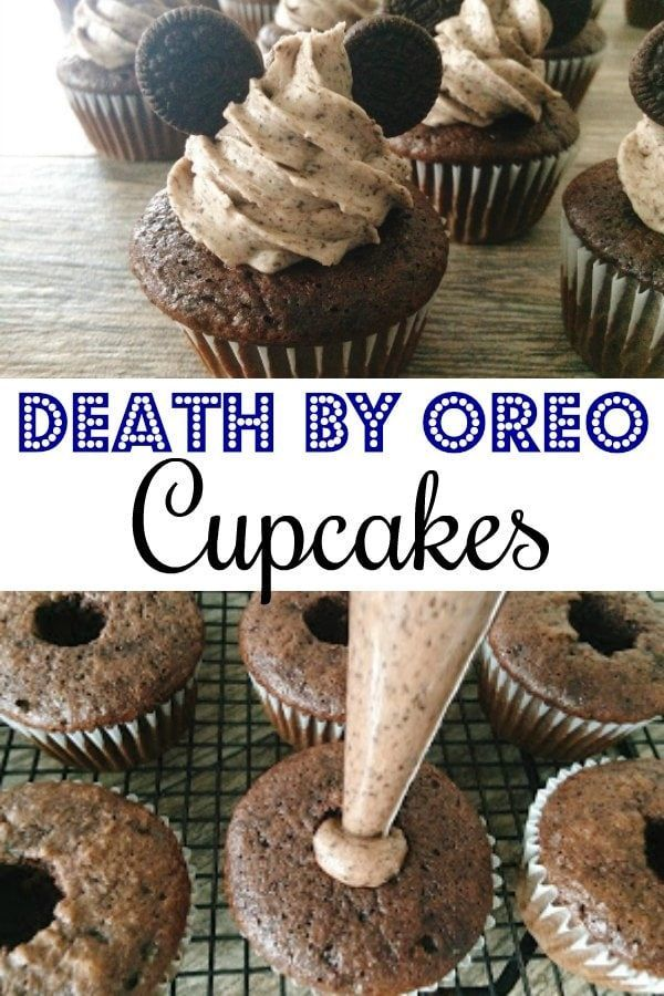Photo of Death by OREO Cupcakes – The Mommy Mouse Clubhouse