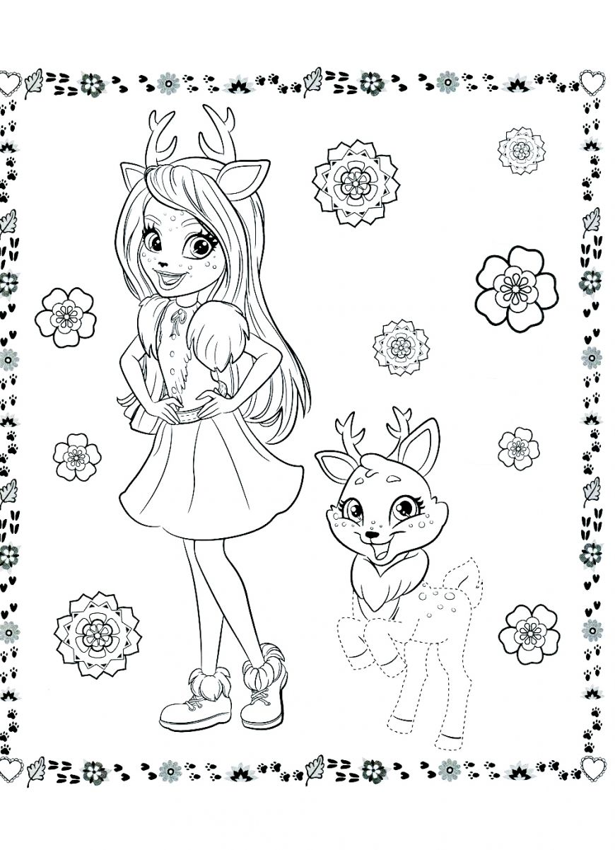 Enchantimals New Free Printable Coloring Pages Cute Coloring Pages Cartoon Coloring Pages Butterfly Coloring Page