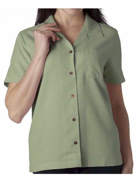 Loungin'-ette -- Every active woman should have a lounge shirt like this one in her wardrobe. Why? Because it's no-nonsense with style.