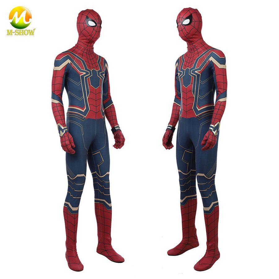 Amazing Spiderman costume TASM2 Zentai Spider-man Cosplay Suit For Adult//Kids