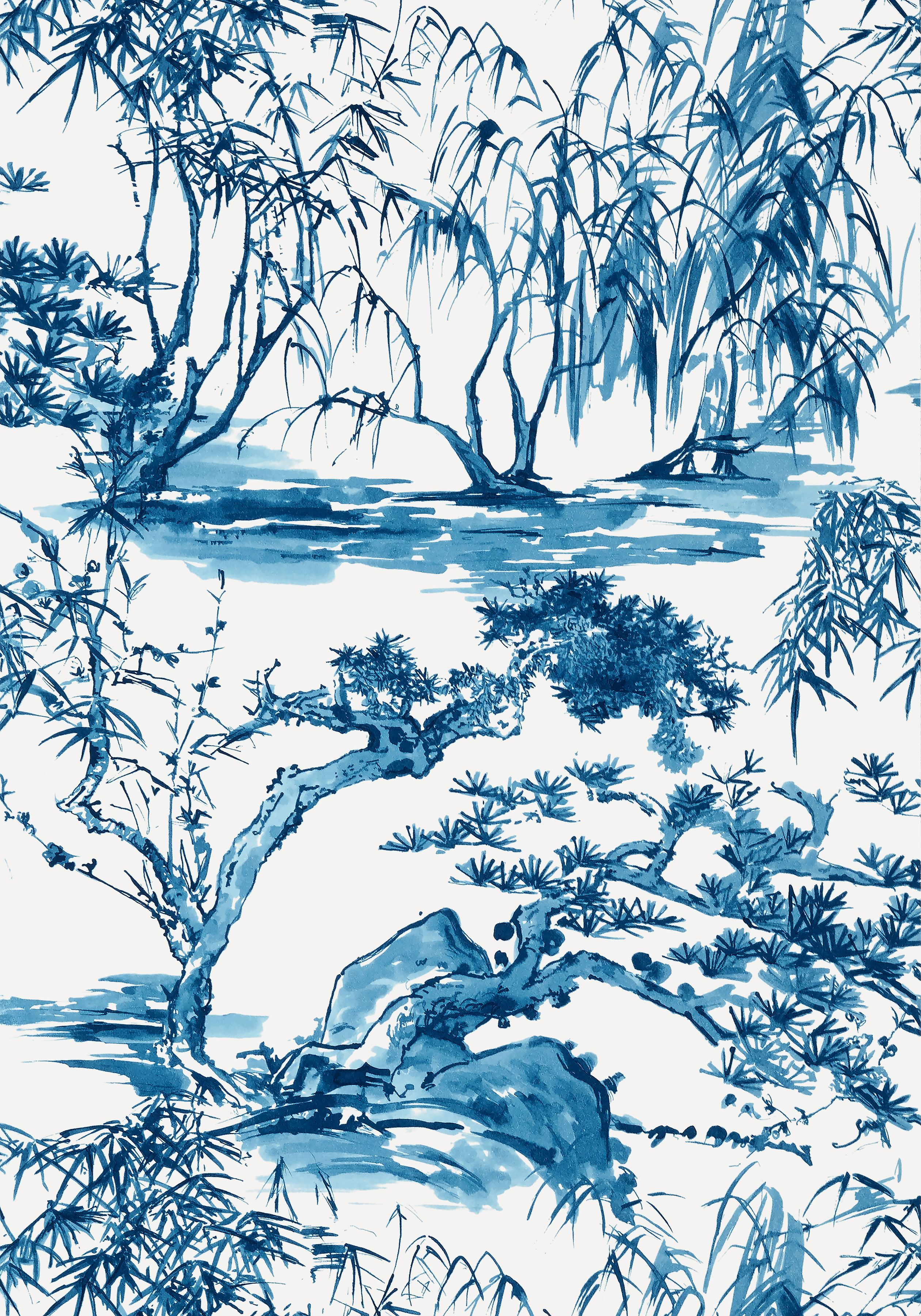 KYOTO, Navy, AT9826, Collection Nara from Anna French in