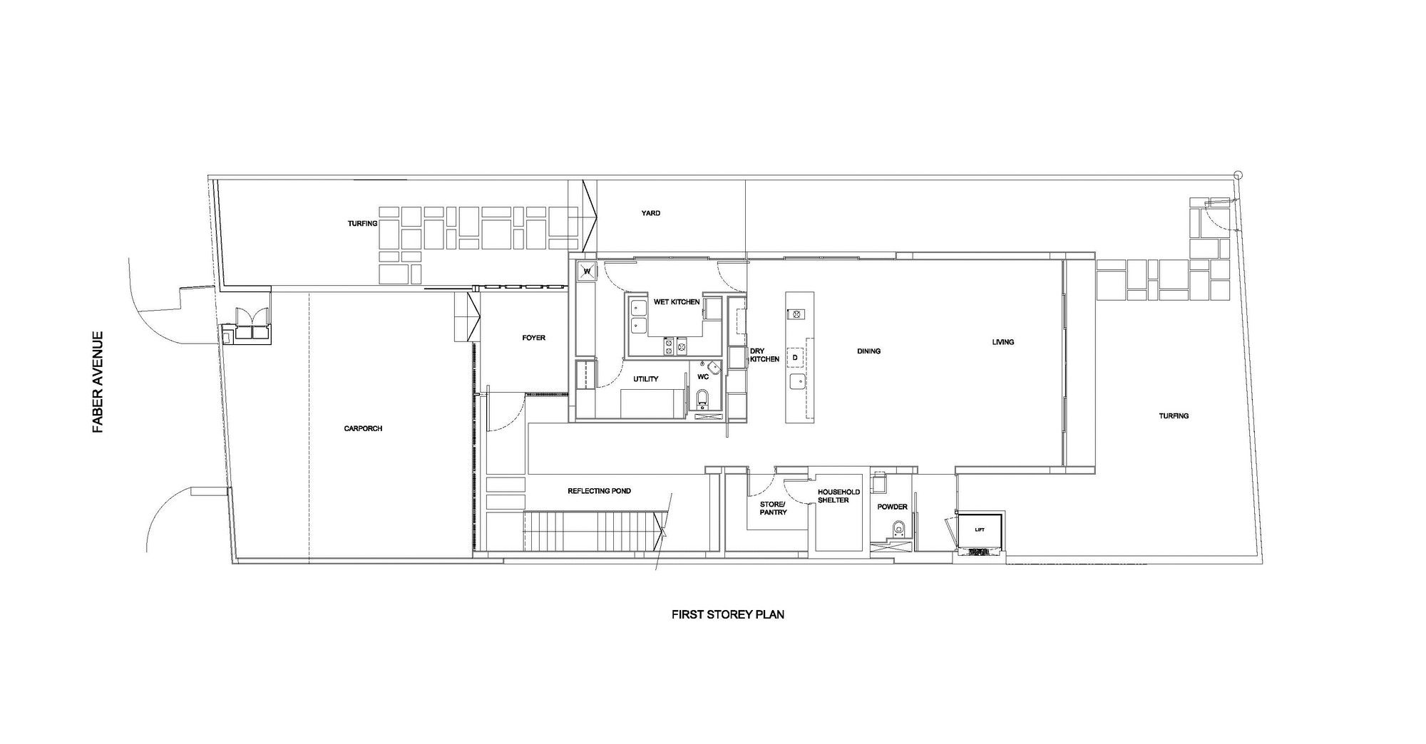 Gallery Of Faber Avenue Hyla Architects 11 Architect Floor Plans Architecture