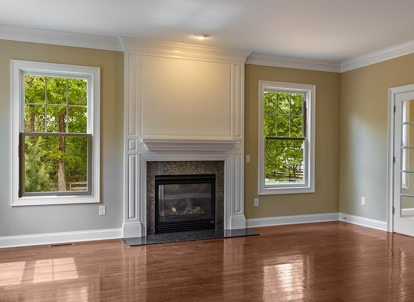Fireplace Design heatilator fireplace : RFS Washington Wall System with Vermillion Brown Granite Surround ...