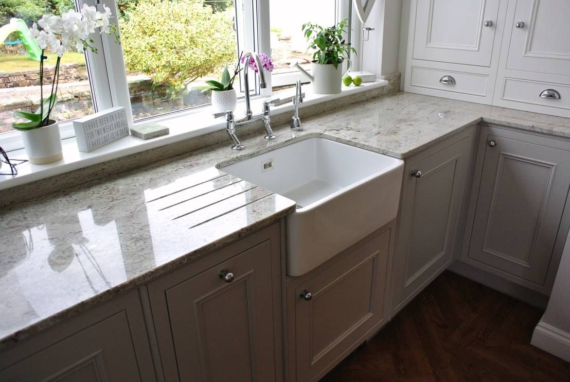 Before & after the chic makeover of a truly tiny kitchen