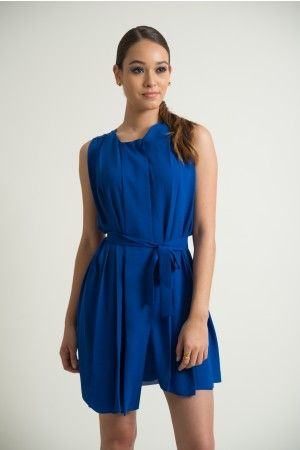 Verano azul Closé Vestido Tige #moda #verano #azul
