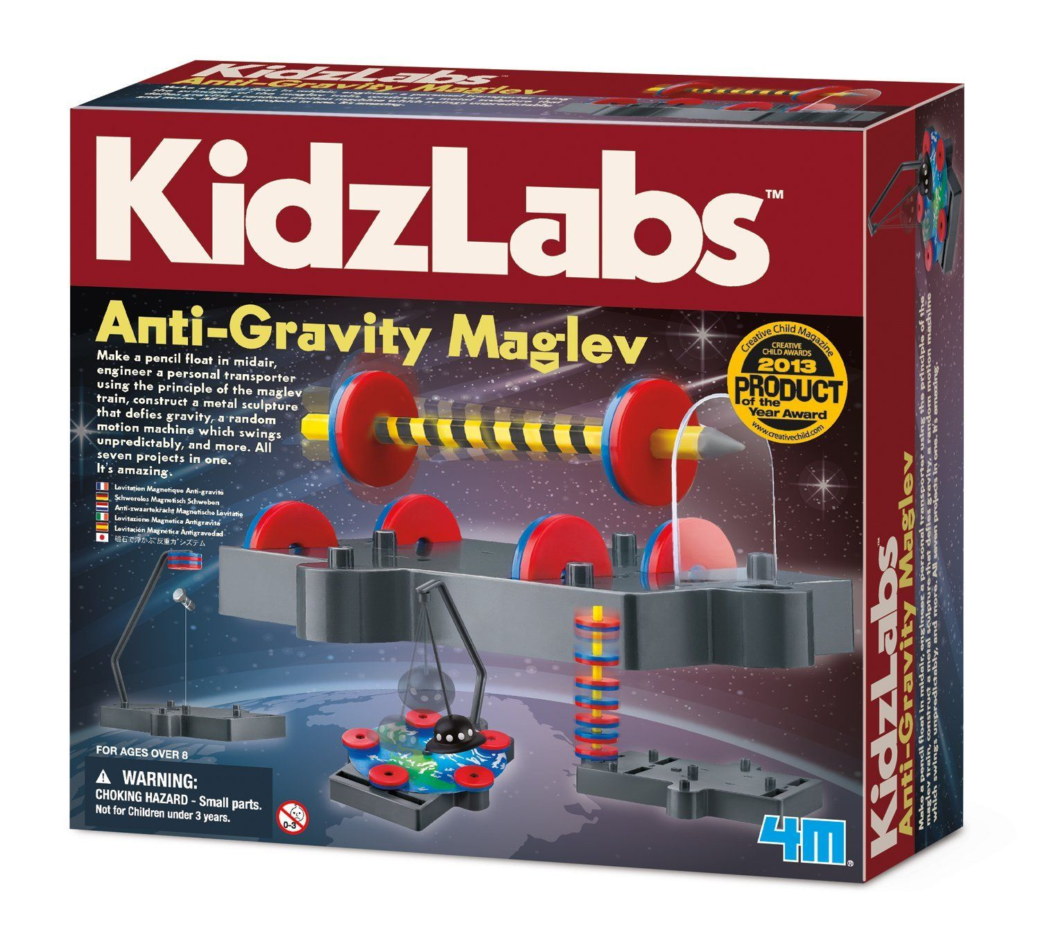Amazon 4M Anti Gravity Magnetic Levitation Science Kit Toys