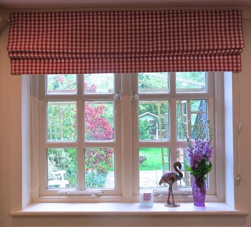 LucyLovesYa   Inspiration Is Everything   Roman Blinds Finished And Up