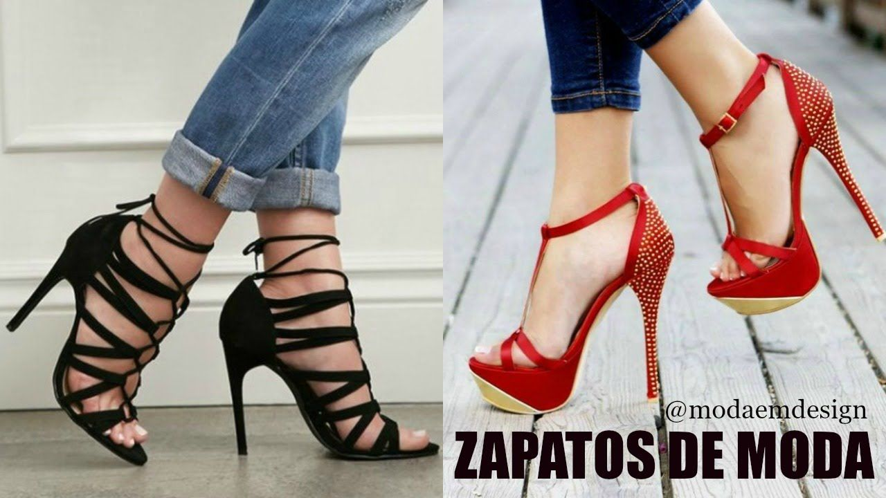 c29f0921e25 Zapatos de Moda 2016 2017 ♥ EMDesign - YouTube