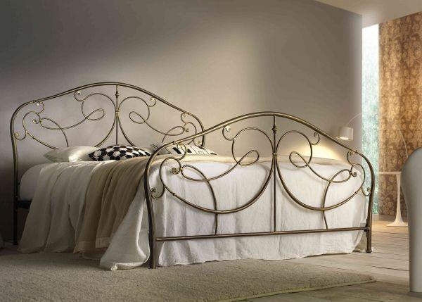 Letto in ferro battuto festo cod csfes marca festo letto in ferro battuto completo di - Letto completo di rete e materasso ...