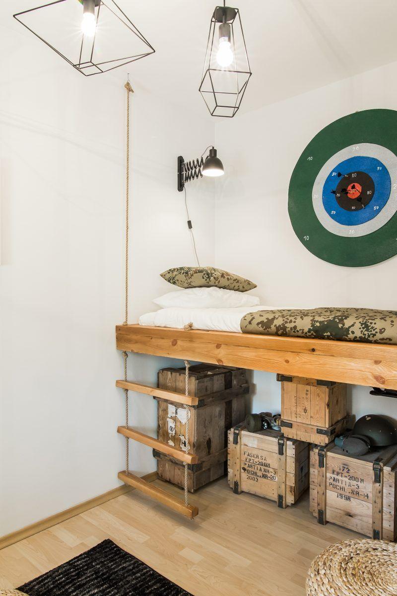 Wojskowy Pokoj Dla Chlopca Szukaj W Google Home Decor Furniture Decor
