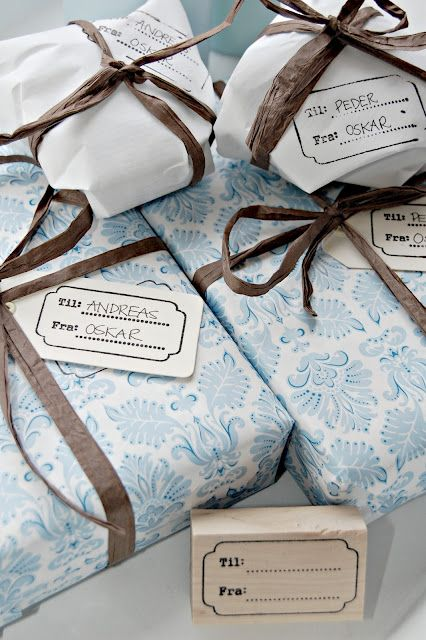 Raffia Ribbons Gift Wrapping Gift Wrapping Inspiration Gift Wraping