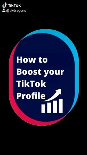 How To Boost Your Tiktok Profile Video Boosting Profile The North Face Logo
