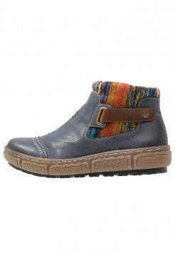 354a3364d44ab Rieker - Boots à talons - ozean/mogano/orange | topanky | Zalando a ...