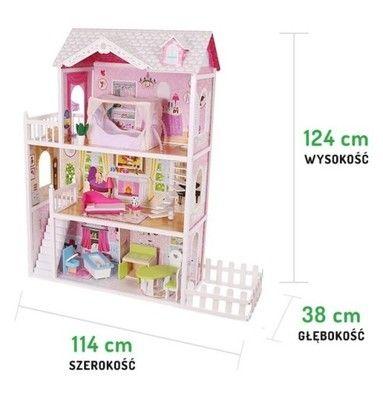 Drewniany Domek Dla Lalek California Ogrod Ecotoys 6528710608 Oficjalne Archiwum Allegro Decor Home Decor Toy Chest