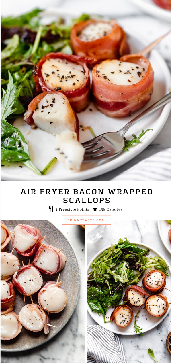 Air Fryer Bacon Wrapped Scallops Recipe Air fryer
