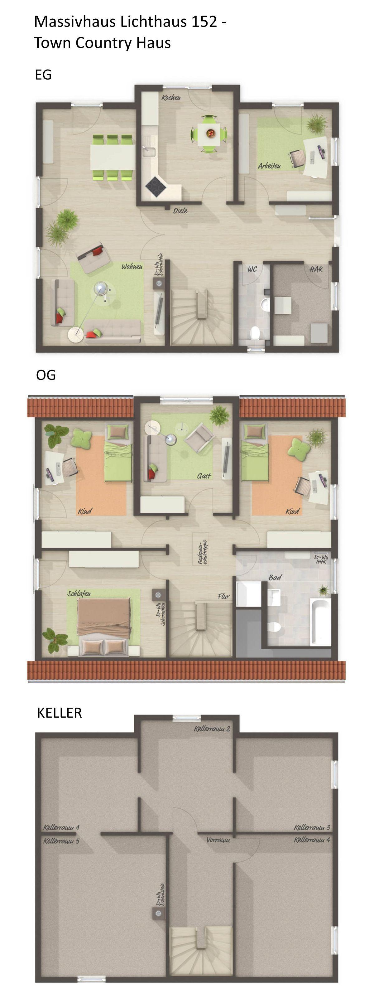 Entzückend Grundriss Einfamilienhaus 150 Qm Foto Von Mit Klinker Fassade, Zwerchgiebel & Satteldach Architektur