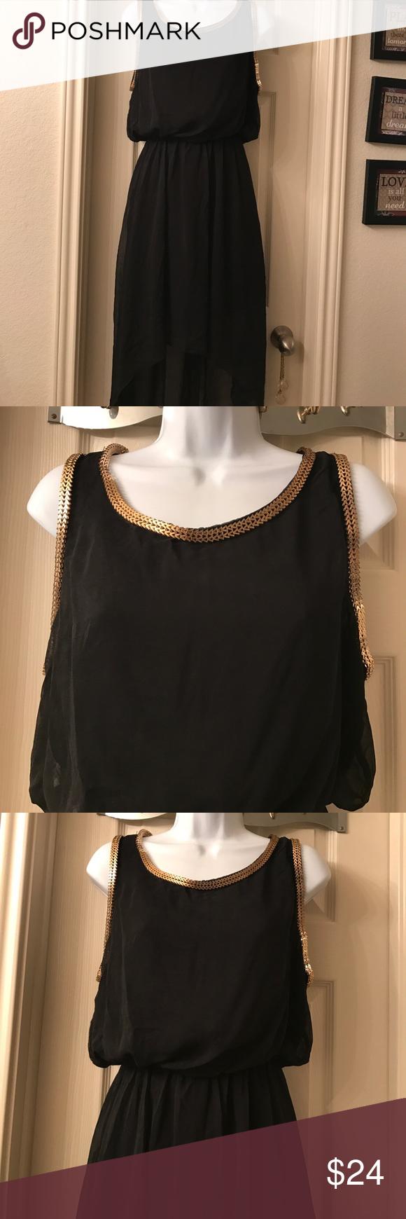 Blackgold embellished necksleeve design my posh picks pinterest