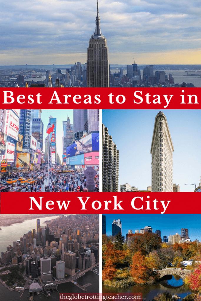 Where to Stay in New York City (Written by a local NYer!)- Planning a trip to NYC and want to find the best area to stay in New York for the right price? This guide will show you the best places to stay in New York City and the top hotels in each neighborhood. #travel #newyorkcity #nyc #newyork #thebigapple #manhattan #nychotels #bestplacestostayinnewyork #usatravel #bucketlist #travelguide #WhatToDoInNewYork