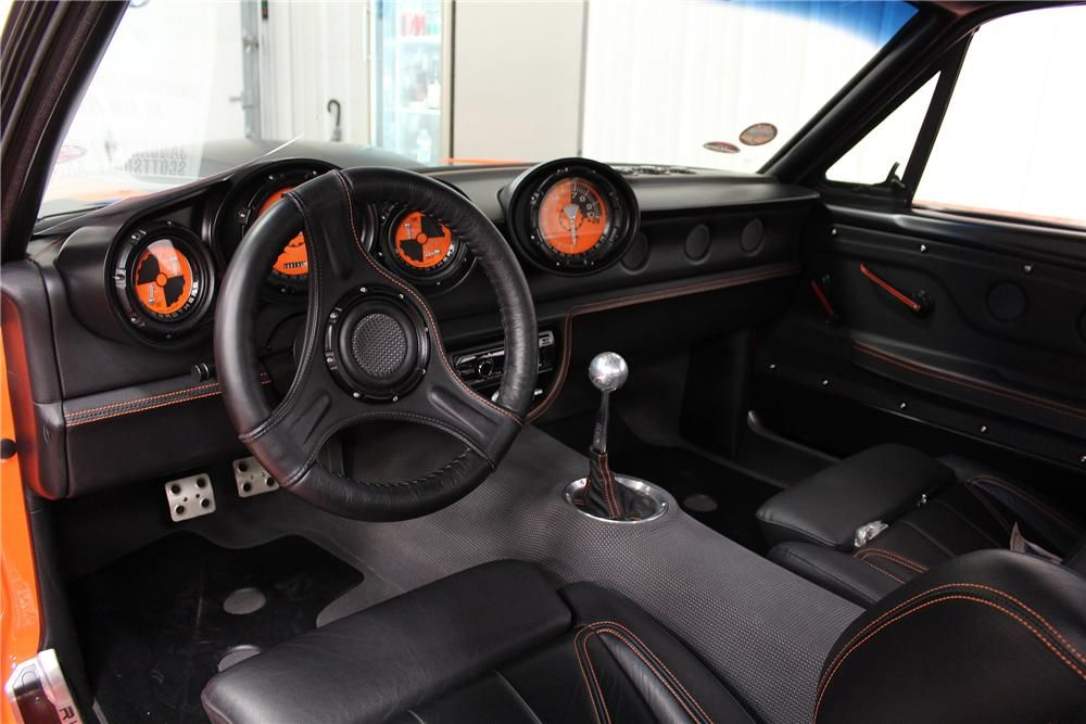 1965 Fastback Ring Brothers Mustang   Interior