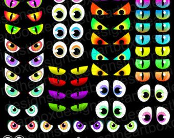 free printable spooky eyes halloween pinterest monster eyes rh pinterest co uk scary halloween eyes clip art Scary Eyes in the Dark