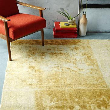 Anne The Deepest Gold In This Rug Is Same Color As Solid Textured