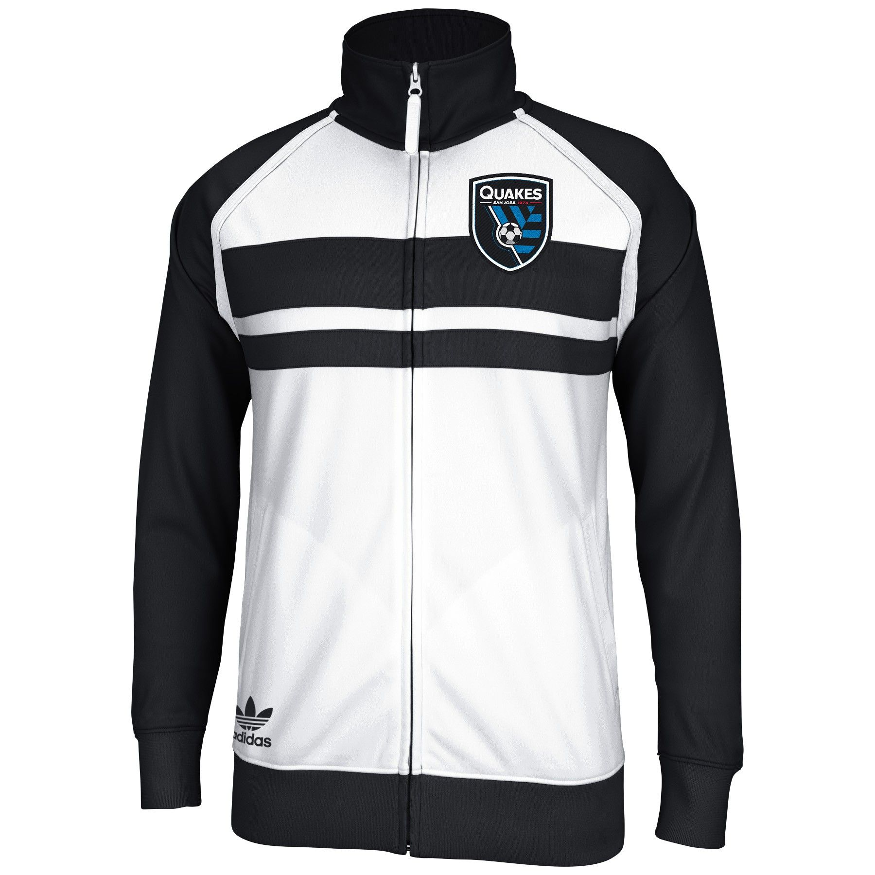 5694e66f7c4 The New Earthquakes White Track Jacket