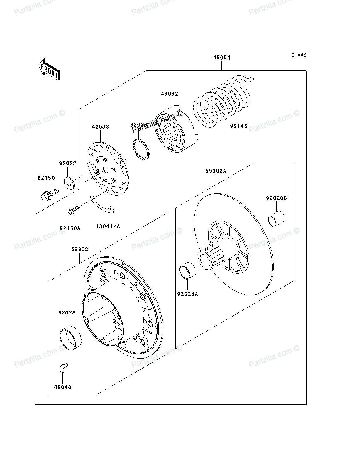 50 Kawasaki Mule 2510 Parts Diagram Ts4g