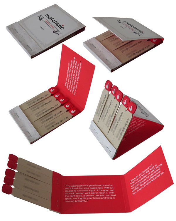 15 Awesome Mini Brochure Designs | Brochures and Calling cards
