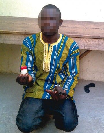 A Robbery Suspect Rescued From Lynching