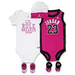 9455b92d20a Jordan Lil Jersey 5-Piece Infant Set