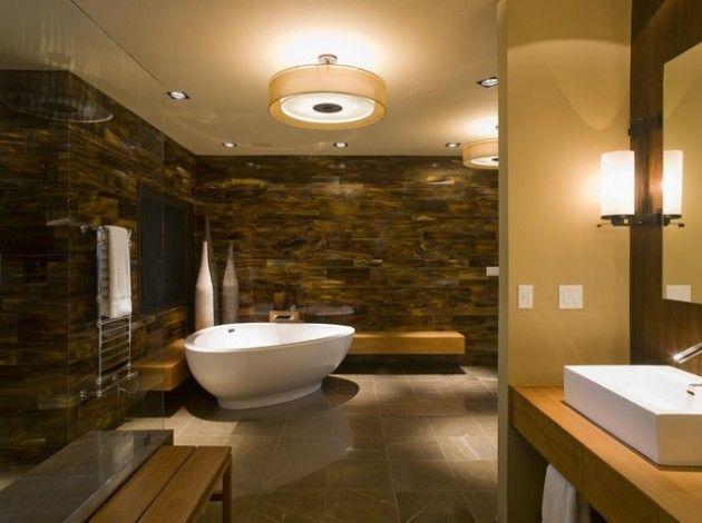 25 Ultra Modern Spa Bathroom Designs For Your Everyday Enjoyment Spa Bathroom Design Spa Bathroom Decor Bathroom Spa