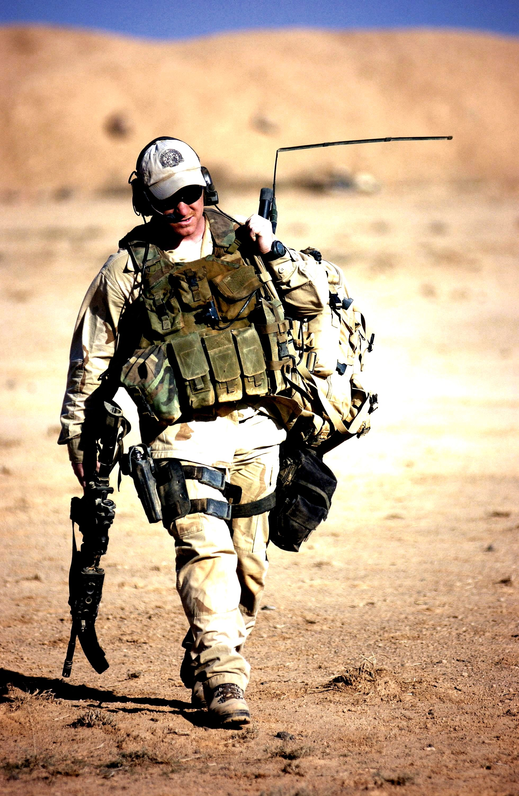 Mike Charlie! Combat Controller heading out. in 2020