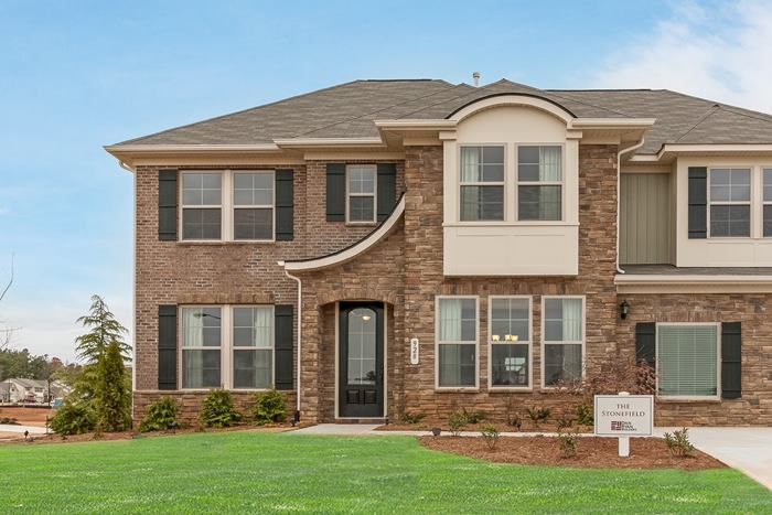Gorgeous New Home The Stonefield At Arrowhead Greens New Home Builders New Homes Gorgeous Houses