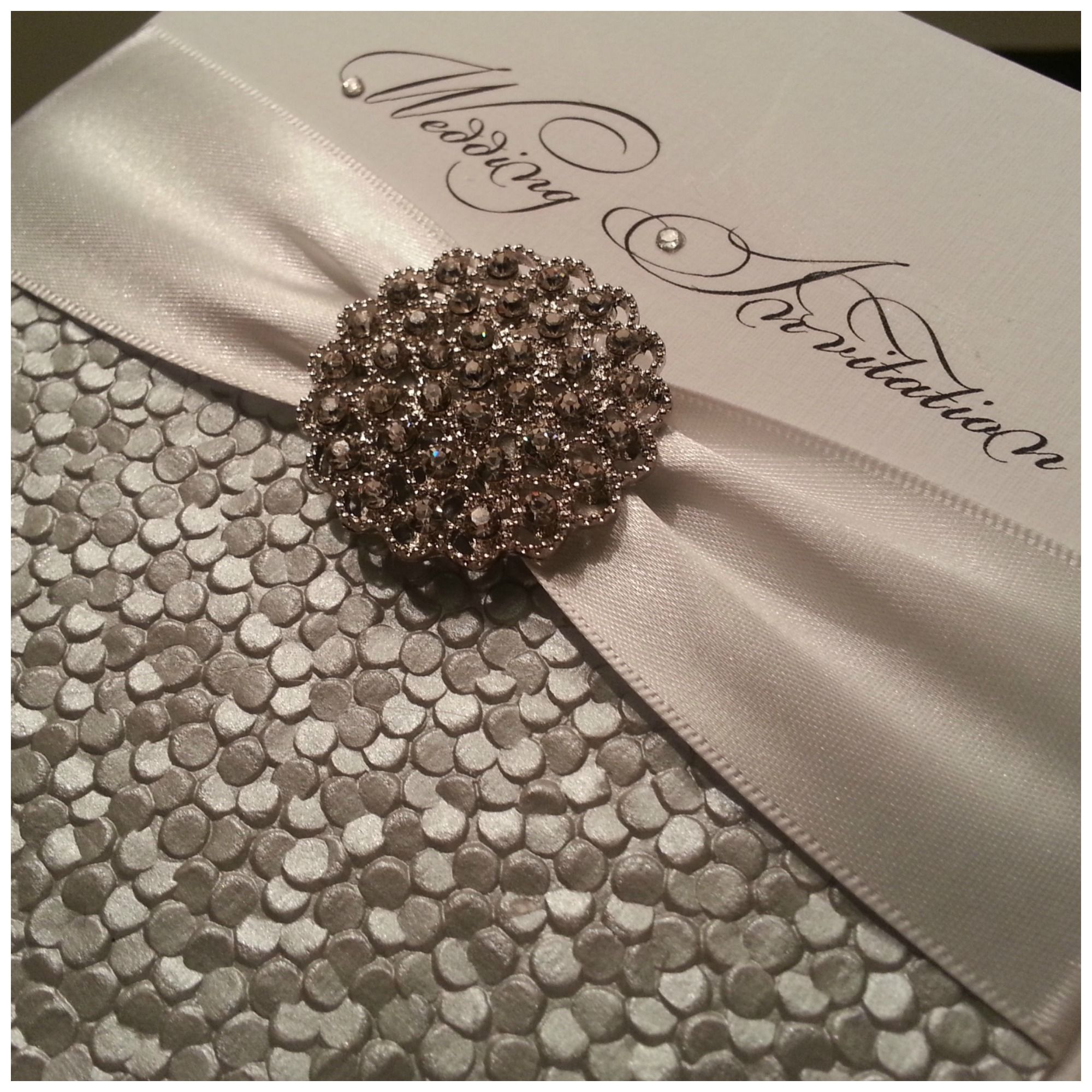 Glamour Crystal Couture Luxury Wedding Stationery Norfolk Uk Award Winning Invitations