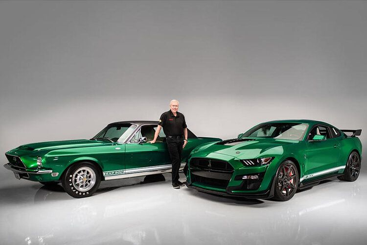 2020 Ford Mustang Shelby Gt500 Vin 001 Green Hornet Stangbangers In 2020 Ford Mustang Shelby Ford Mustang Shelby Gt500 Mustang Shelby