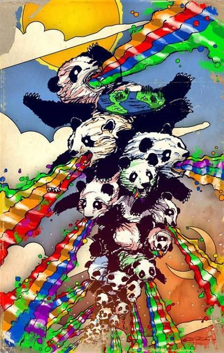 Rainbow Pandaa