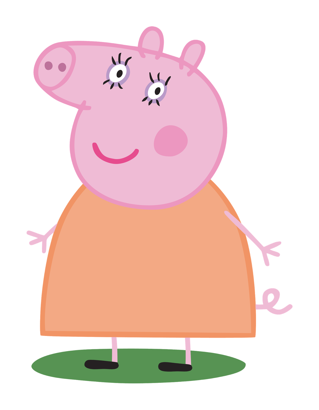 Mummy Pig Transparent Png Stickpng Peppa Pig Images Mummy Pig Peppa Pig Cartoon