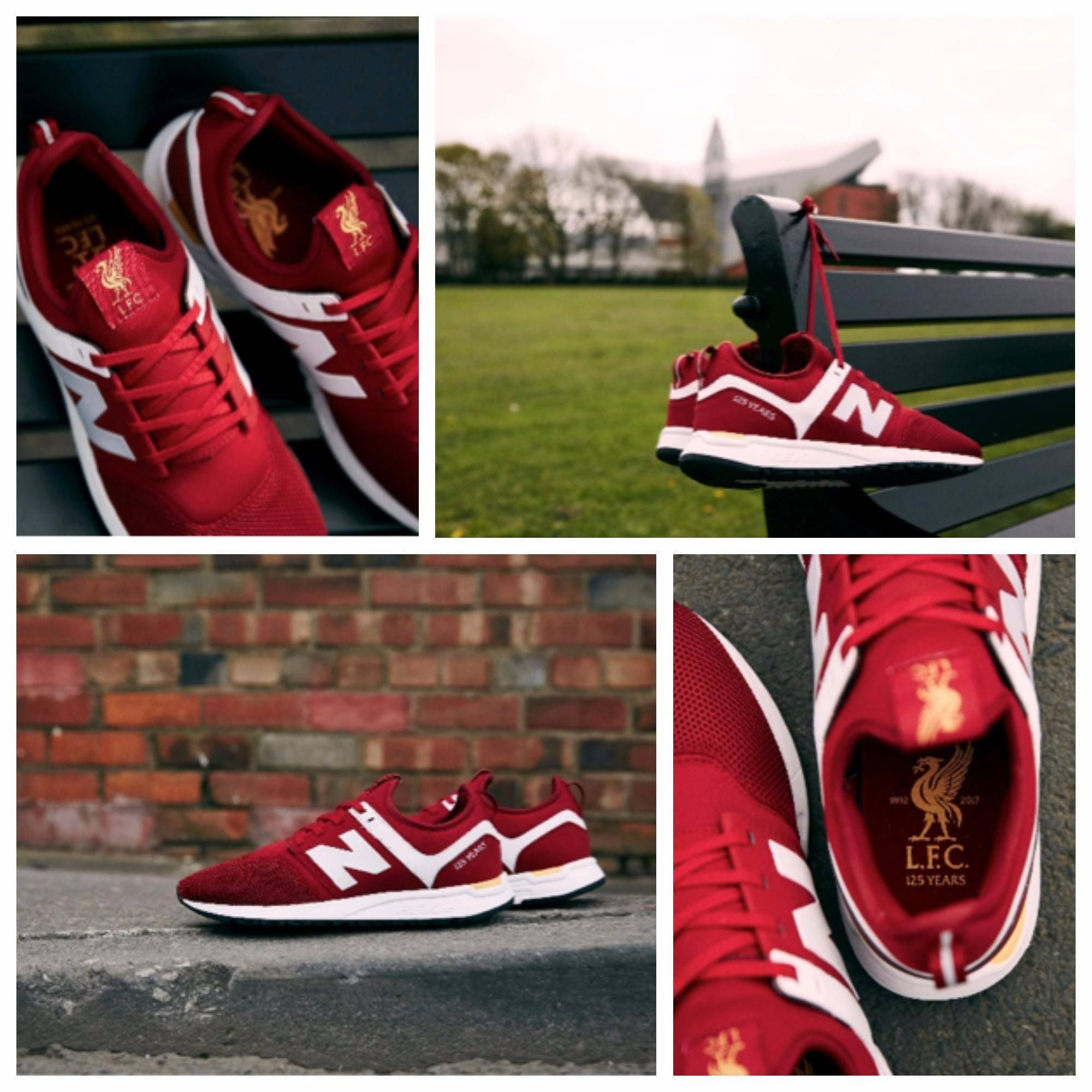 69009f93f New Balance Liverpool FC trainer in celebration of the Clubs 125th  anniversary.