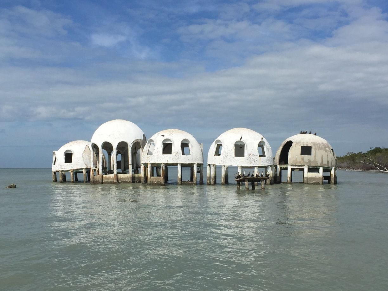 Dome Homes, Marco Island, Florida - Cape Romano Dome Homes #waterlust
