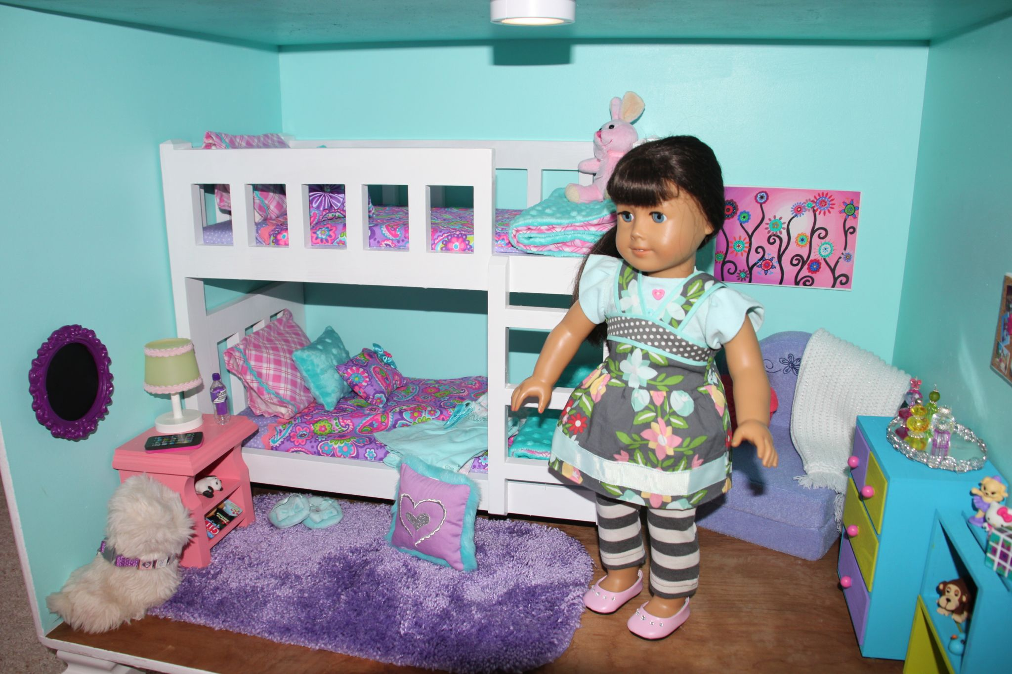 Pin on American Girl Dollhouse from bookcases