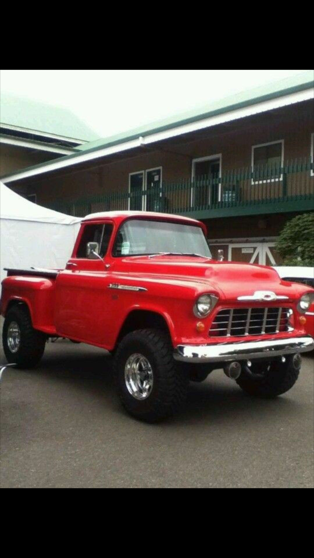 If Your Gonna Run A 4x4 Do It In Style With Images 57 Chevy