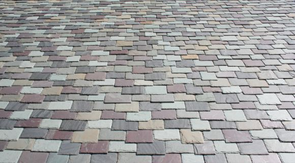 Best North Country Slate Multi Colored Custom Blend Roofing 640 x 480