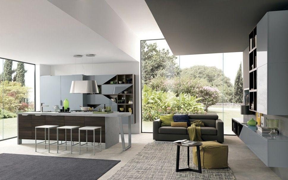Lungomare | Colombini Casa | Artec linea Cucina | Pinterest | Modello